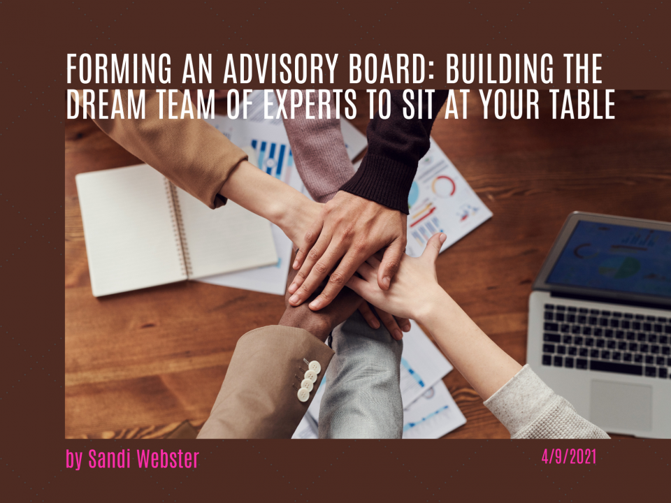 Forming an Advisory Board
